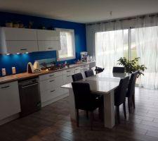 La cuisine. Ouverte sur l espace salon salle a manger.cuisine plus Besançon