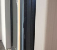 Joint silicone mal posé (suite dépose vitrage)