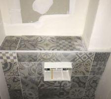 Bâti WC suspendu