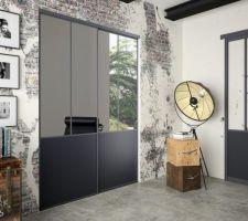 Porte de placard entrée et chambres