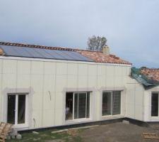 Panneaux photovoltaïque. 16 x 180Wc Suntech