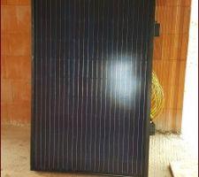Pose des photovoltaïques commencée