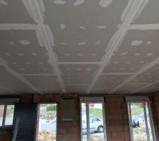 Plafond terminé