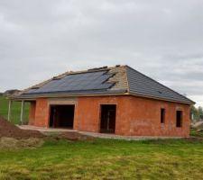 Installation photovoltaïques terminée