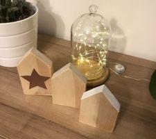 Dernier DIY mes p?tites maisons en bois