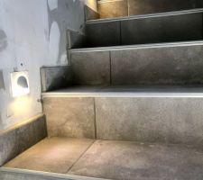 Spots d?escalier Legrand Celiane
