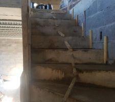 Escalier bientôt fini