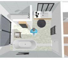 Nouveau plan salle de bain