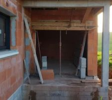 Rectification portail garage