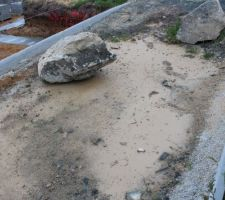 Preuve du pompage de l'eau dans les fouilles, ouf !