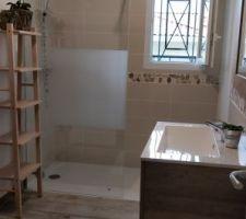 Salle de bain finie !