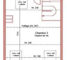 Plan 2 eme etage