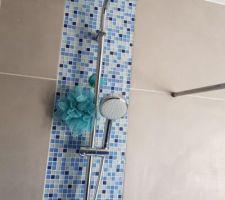 Salle de bain étage nouvelle colonne de douche