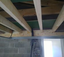 Plancher mezzanine garage