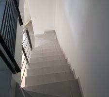 Montée d'escalier ...