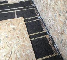 Isolation du sol sur la dalle béton en liège plutôt qu'en ouate
