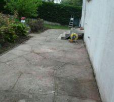 Terrasse nettoyée