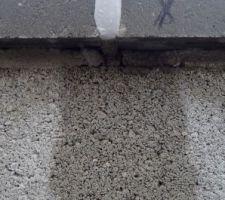 Joints de couvertine
