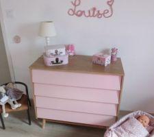 Chambre de Louise terminée