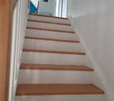Peinture de l escalier