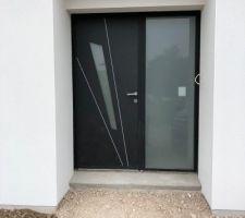 Porte d'entrée K-Line modèle Fuseau