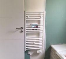Sèche serviette salle de bains