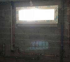 Réseau plomberie sous-sol