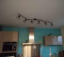 Mon luminaire de cuisine enfin trouvé!