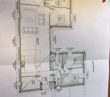 Voilà le plan de notre maison