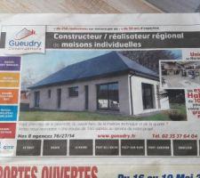 Notre maison dans le journal !