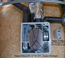 Le c?ur de la bête ... VMC double flux installée au garage !