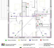 Plan VMC étage