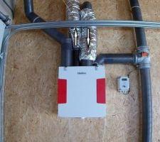 VMC double flux au garage