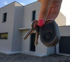 Remise des clés !! Quel bonheur :)