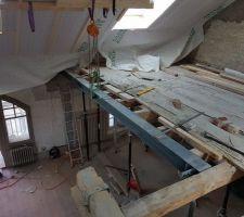 Création d'une mezzanine dans les combles