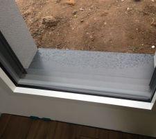 Appuis de fenêtre en alu posés