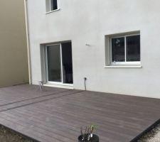 Terrasse 36 m2