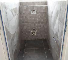 Toilettes finis