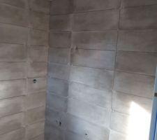Salle de bain en cours