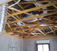 Unité de la chambre du Rdc intégrée dans le toit