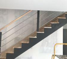 Mon escalier après : un sacré changement