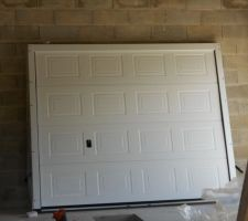 La porte de garage
