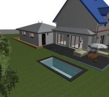Projet piscine XS