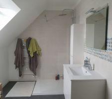 Salle de bain en cours ...