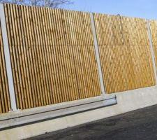 Projet habillage mur ancien garage