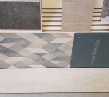 Carrelage salle de bain étage mur et sol