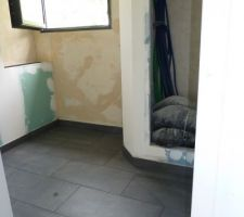 WC étage - Carreaux Monocibec Nextra 30x60