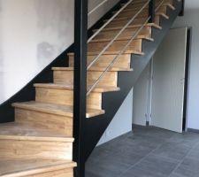 Notre escalier : j'adore