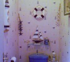 Nos toilette fini theme mer