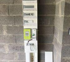 Compteur électrique raccordé par ENEDIS